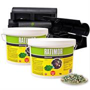 4x KAS-Box & 2x 1kg Ratimor Pellets