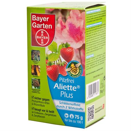 bayer pilzfrei aliette plus 75g d nger und pflanzenschutzmittel onlineshop kas stralsund. Black Bedroom Furniture Sets. Home Design Ideas