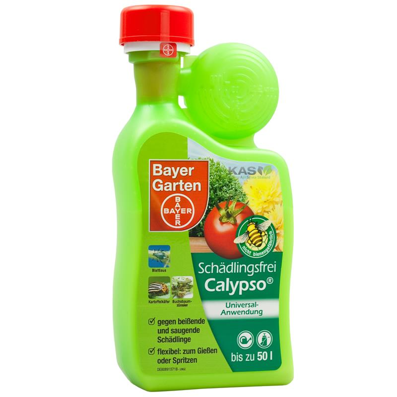 bayer sch dlingsfrei calypso 400 ml gegen insekten wie den buchsbaumz nsler ebay. Black Bedroom Furniture Sets. Home Design Ideas